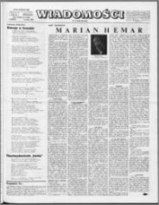 Wiadomości, R. 23 nr 9 (1144), 1968