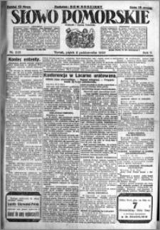 Słowo Pomorskie 1925.10.02 R.5 nr 228