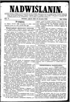 Nadwiślanin, 1866.01.12 R. 17 nr 4