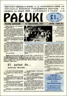 Pałuki. Pismo lokalne 1991.09.16 nr 13