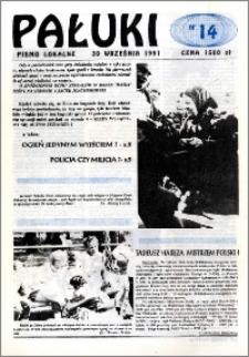 Pałuki. Pismo lokalne 1991.09.30 nr 14