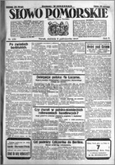 Słowo Pomorskie 1925.10.04 R.5 nr 230