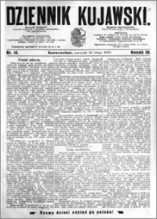 Dziennik Kujawski 1895.02.21 R.3 nr 43