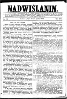 Nadwiślanin, 1866.12.07 R. 17 nr 141