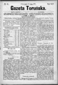 Gazeta Toruńska 1888, R. 22 nr 43