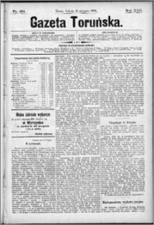 Gazeta Toruńska 1888, R. 22 nr 184