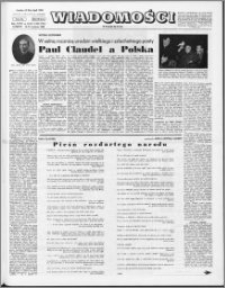 Wiadomości, R. 23 nr 15/16 (1150/1151), 1968