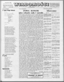 Wiadomości, R. 23 nr 22 (1157), 1968