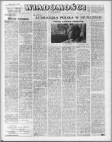 Wiadomości, R. 23 nr 28 (1163), 1968