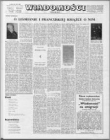 Wiadomości, R. 23 nr 29 (1164), 1968