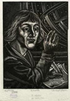 Portret Mikołaja Kopernika z astrolabium