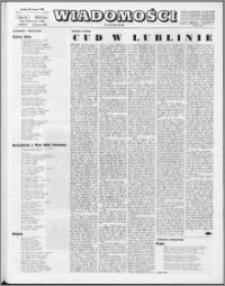 Wiadomości, R. 23 nr 31 (1166), 1968
