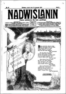 Nadwiślanin. Gazeta Ziemi Chełmińskiej, 1920.23.01 R. 2 nr 18