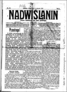Nadwiślanin. Gazeta Ziemi Chełmińskiej, 1920.01.31 R. 2 nr 25