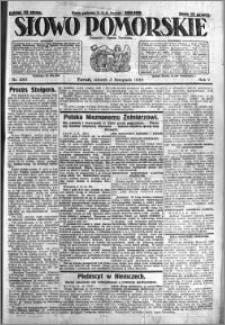 Słowo Pomorskie 1925.11.03 R.5 nr 255