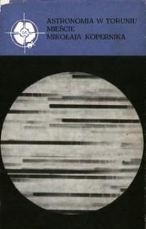 Astronomia w Toruniu mieście Mikołaja Kopernika