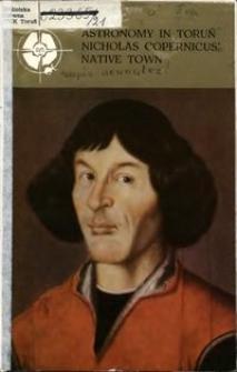 Astronomy in Toruń Nicholas Copernicus' native town