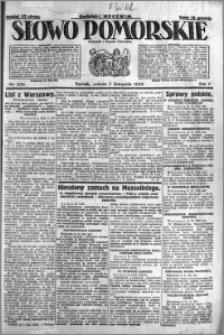 Słowo Pomorskie 1925.11.07 R.5 nr 259