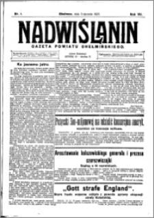 Nadwiślanin. Gazeta Ziemi Chełmińskiej, 1925.01.03 R. 7 nr 1