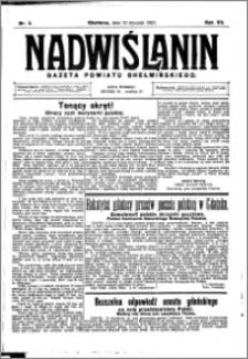 Nadwiślanin. Gazeta Ziemi Chełmińskiej, 1925.01.10 R. 7 nr 3