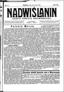 Nadwiślanin. Gazeta Ziemi Chełmińskiej, 1925.01.28 R. 7 nr 8