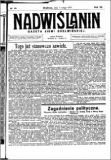 Nadwiślanin. Gazeta Ziemi Chełmińskiej, 1925.02.04 R. 7 nr 10