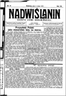 Nadwiślanin. Gazeta Ziemi Chełmińskiej, 1925.02.11 R. 7 nr 12