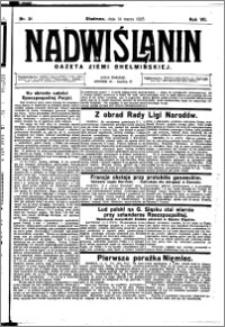Nadwiślanin. Gazeta Ziemi Chełmińskiej, 1925.03.14 R. 7 nr 21