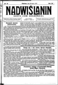 Nadwiślanin. Gazeta Ziemi Chełmińskiej, 1925.03.28 R. 7 nr 25