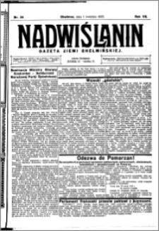 Nadwiślanin. Gazeta Ziemi Chełmińskiej, 1925.04.01 R. 7 nr 26