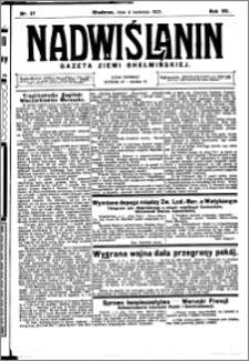 Nadwiślanin. Gazeta Ziemi Chełmińskiej, 1925.04.04 R. 7 nr 27
