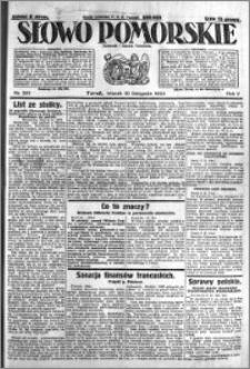 Słowo Pomorskie 1925.11.10 R.5 nr 261