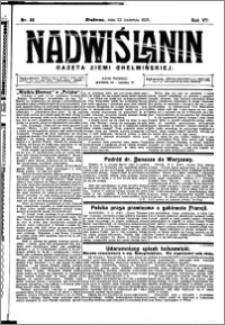 Nadwiślanin. Gazeta Ziemi Chełmińskiej, 1925.04.22 R. 7 nr 32