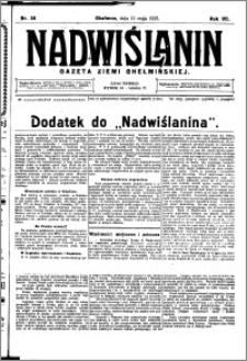 Nadwiślanin. Gazeta Ziemi Chełmińskiej, 1925.05.13 R. 7 nr 38