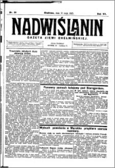 Nadwiślanin. Gazeta Ziemi Chełmińskiej, 1925.05.16 R. 7 nr 39