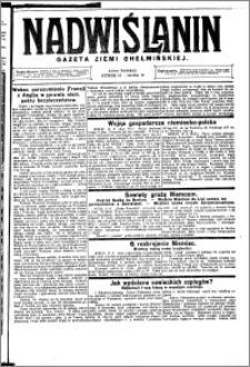 Nadwiślanin. Gazeta Ziemi Chełmińskiej, 1925.06.20 R. 7 nr 49