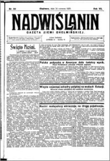 Nadwiślanin. Gazeta Ziemi Chełmińskiej, 1925.06.24 R. 7 nr 50