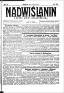 Nadwiślanin. Gazeta Ziemi Chełmińskiej, 1925.07.04 R. 7 nr 52