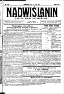 Nadwiślanin. Gazeta Ziemi Chełmińskiej, 1925.07.11 R. 7 nr 54