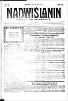 Nadwiślanin. Gazeta Ziemi Chełmińskiej, 1925.07.15 R. 7 nr 55