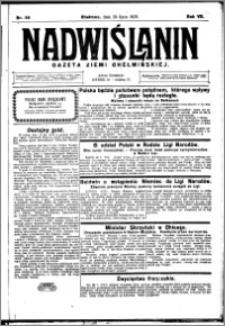 Nadwiślanin. Gazeta Ziemi Chełmińskiej, 1925.07.29 R. 7 nr 59