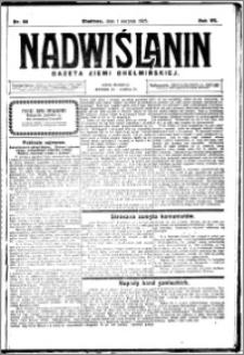 Nadwiślanin. Gazeta Ziemi Chełmińskiej, 1925.08.01 R. 7 nr 60