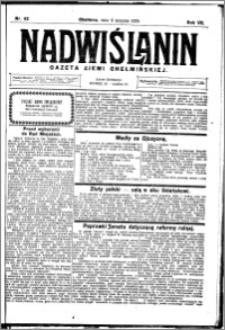 Nadwiślanin. Gazeta Ziemi Chełmińskiej, 1925.08.08 R. 7 nr 62