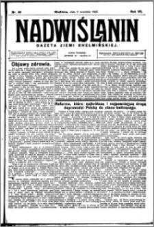Nadwiślanin. Gazeta Ziemi Chełmińskiej, 1925.09.02 R. 7 nr 69