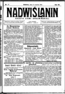 Nadwiślanin. Gazeta Ziemi Chełmińskiej, 1925.09.30 R. 7 nr 77
