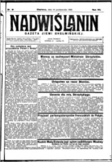 Nadwiślanin. Gazeta Ziemi Chełmińskiej, 1925.10.14 R. 7 nr 81