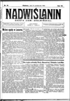 Nadwiślanin. Gazeta Ziemi Chełmińskiej, 1925.10.24 R. 7 nr 84