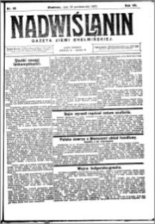 Nadwiślanin. Gazeta Ziemi Chełmińskiej, 1925.10.28 R. 7 nr 85