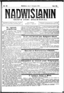 Nadwiślanin. Gazeta Ziemi Chełmińskiej, 1925.11.11 R. 7 nr 89
