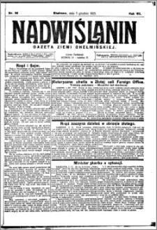 Nadwiślanin. Gazeta Ziemi Chełmińskiej, 1925.12.05 R. 7 nr 96